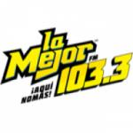 Logo da emissora Radio La Mejor 103.3 FM