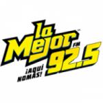 Logo da emissora Radio La Mejor 92.5 FM