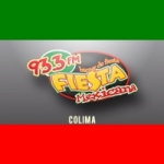 Logo da emissora Radio Fiesta Mexicana 93.3 FM
