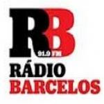 Logo da emissora R�dio Barcelos 91.9 FM