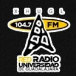 Logo da emissora XHUG 104.3 FM