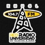 Logo da emissora XHUGC 104.7 FM