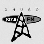 Logo da emissora XHUGO 107.9 FM