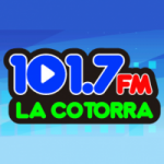 Logo da emissora Radio La Cotorra 101.7 FM