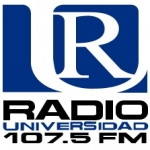 Logo da emissora XHUSH Universidad 107.5 FM
