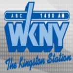 Logo da emissora WKNY 1490 AM