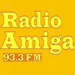 Logo da emissora Amiga 93.3 FM