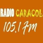 Logo da emissora Caracol 105.1 FM