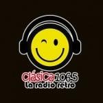 Logo da emissora Clasica 106.5 FM