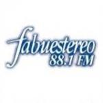 Logo da emissora Fabustereo 88.1 FM