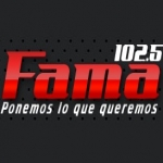 Logo da emissora Fama 102.5 FM