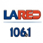 Logo da emissora La Red 106.1 FM