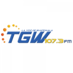 Logo da emissora Radio TGW 107.3 FM