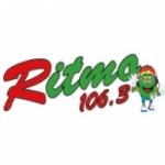Logo da emissora Ritmo 106.3 FM