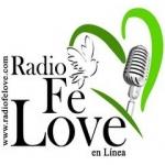 Logo da emissora Radio Fé Love 103.3 FM