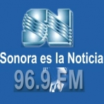 Logo da emissora Radio Sonora 96.9 FM
