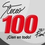Logo da emissora Stereo Cien 100.3 FM