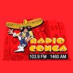 Logo da emissora Conga La Mera Mera 103.9 FM