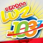 Logo da emissora Radio Stereo Luz 103.7 FM