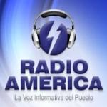 Logo da emissora Radio America 94.7 FM