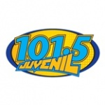 Logo da emissora Radio Juvenil 101.5 FM