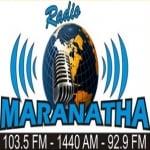 Logo da emissora Maranatha 1440 AM