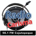 Logo da emissora Radio Carisma 98.1 FM