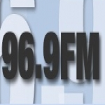 Logo da emissora Radio El Salvador 96.9 FM