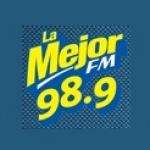 Logo da emissora Radio La Mejor 98.9 FM