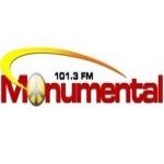 Logo da emissora Radio Monumental 101.3 FM