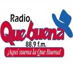 Logo da emissora Radio Que Buena 88.9 FM