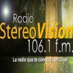 Logo da emissora Radio Vision 106.1 FM