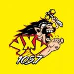 Logo da emissora Radio YXY 105.7 FM
