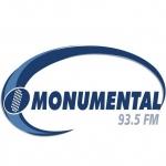 Logo da emissora Radio Monumental 93.5 FM