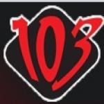 Logo da emissora Radio 103.1 FM