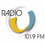Logo da emissora Radio U 101.9 FM