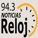 Logo da emissora Radio Reloj 94.3 FM