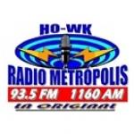 Logo da emissora Metropolis 93.5 FM
