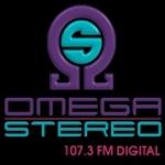 Logo da emissora Radio Omega Stereo 107.3 FM