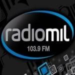 Logo da emissora Radio Mil 103.9 FM
