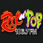 Logo da emissora Rock & Pop 106.7 FM