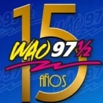 Logo da emissora WAO 97.5 FM