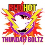 Logo da emissora Radio Red Hot Flames 98.5 FM