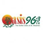 Logo da emissora Radio Oasis 96.3 FM