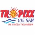 Logo da emissora Radio Tropixx 105.5 FM