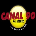 Logo da emissora Radio Canal 90 89.9 FM