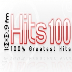 Logo da emissora Radio Hits 100.9 FM