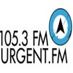 Logo da emissora Radio Urgent 105.3 FM