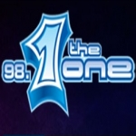 Logo da emissora Radio The One 98.1 FM