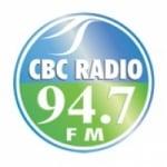 Logo da emissora Radio CBC 94.7 FM